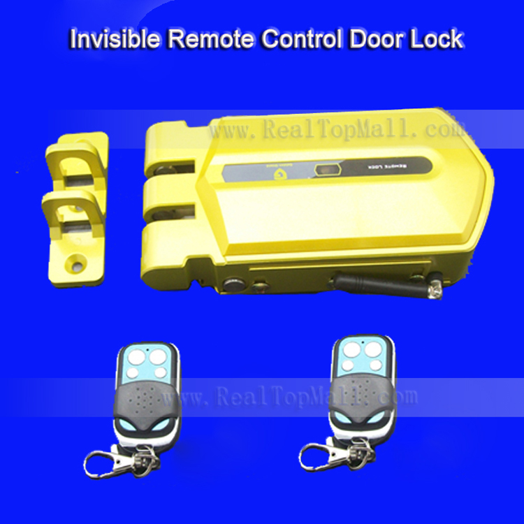 Anti Theft Electric Keyless Remote Control Home Door Lock